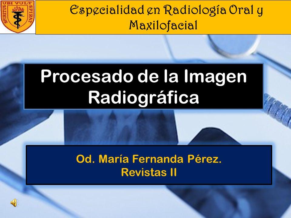 Od. María Fernanda Pérez. Revistas II