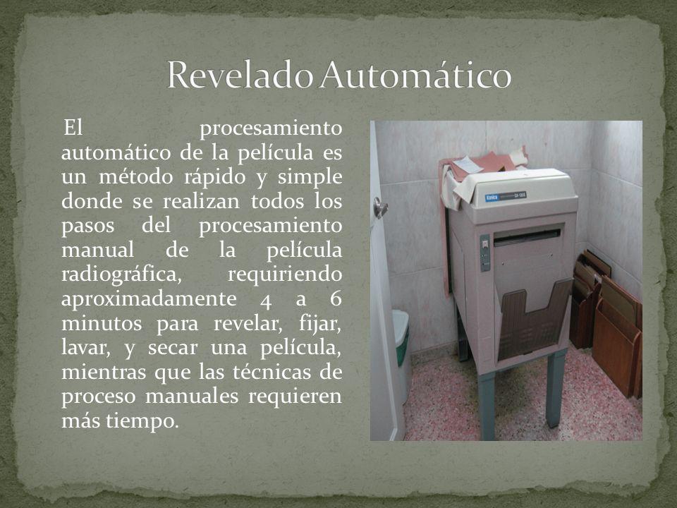 Revelado Automático