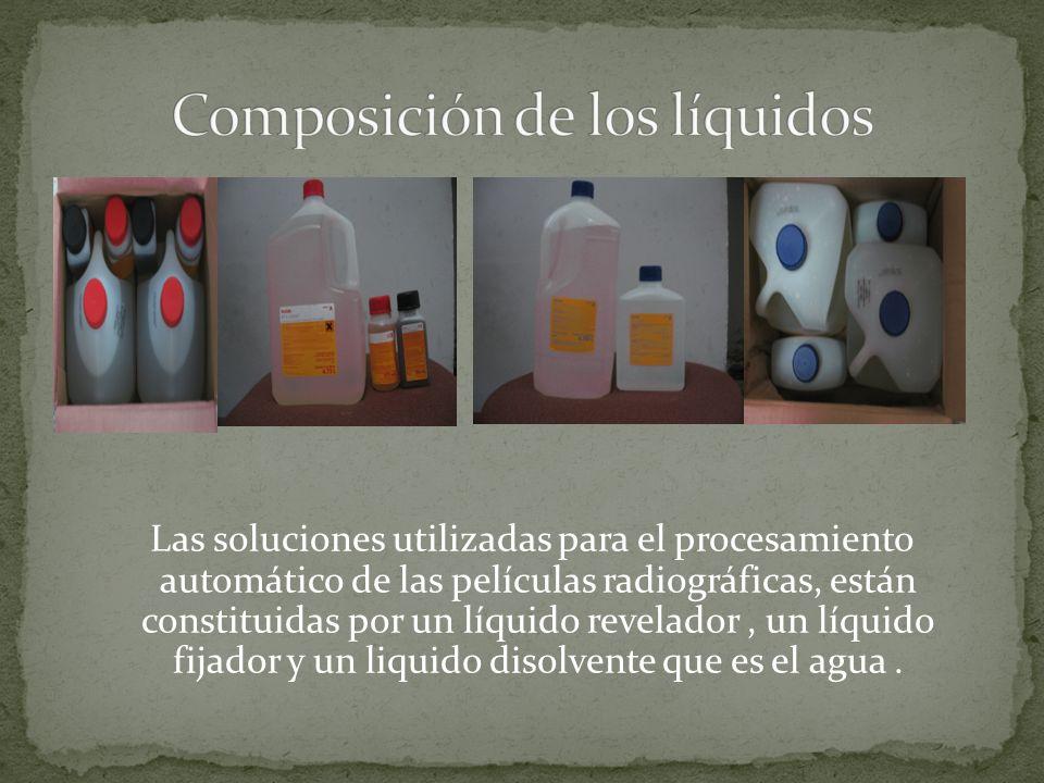 Composición de los líquidos