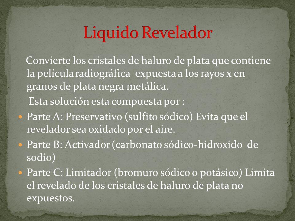 Liquido Revelador