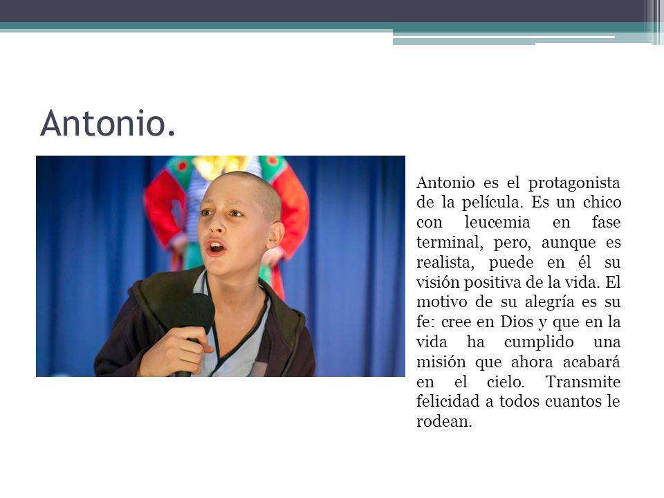 Antonio.