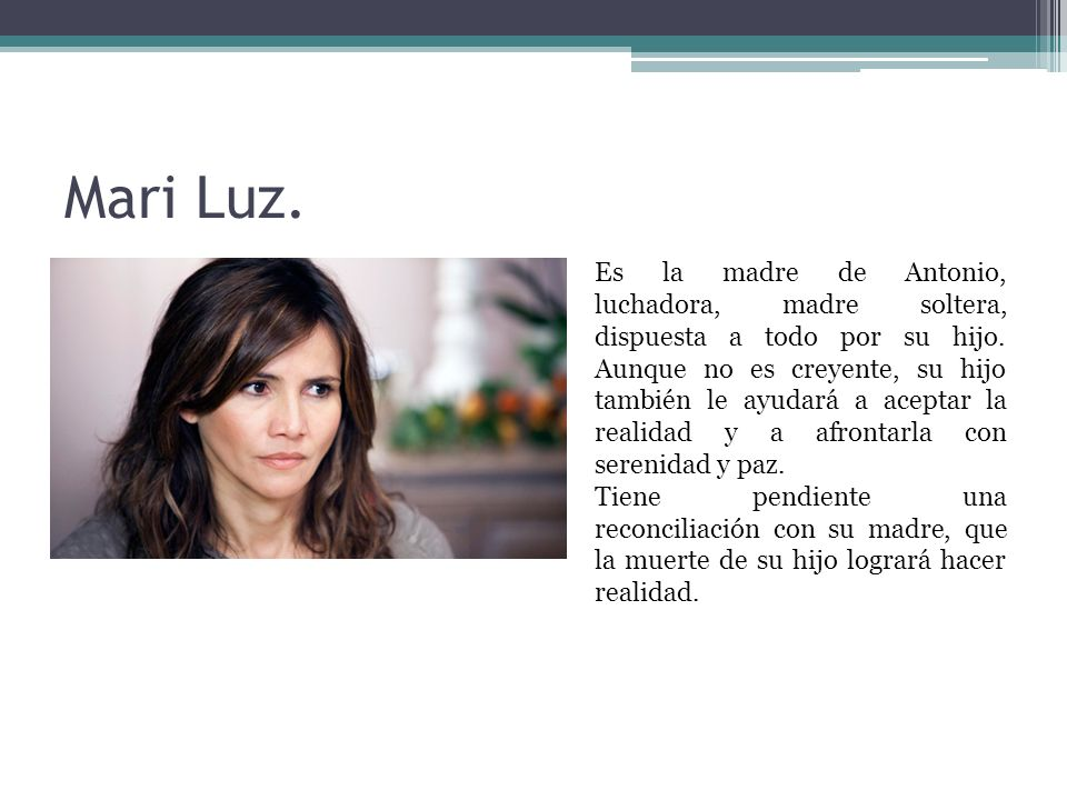Mari Luz.
