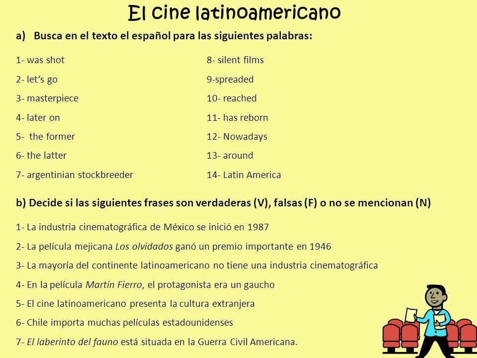 El cine latinoamericano