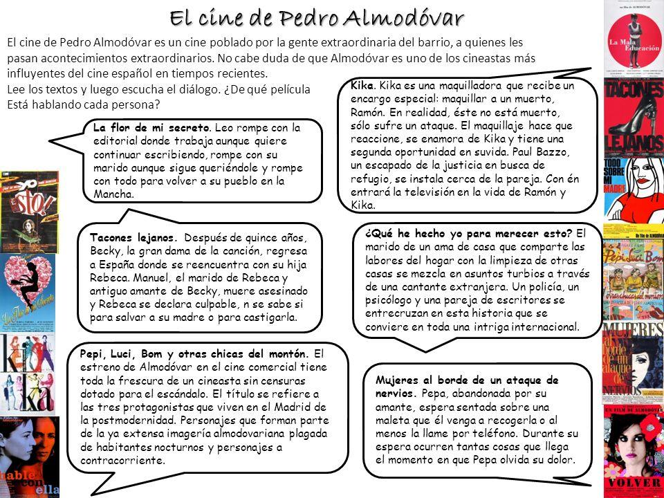 El cine de Pedro Almodóvar