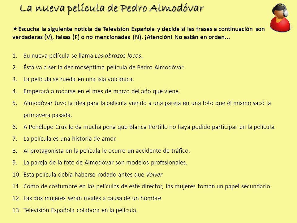 La nueva película de Pedro Almodóvar