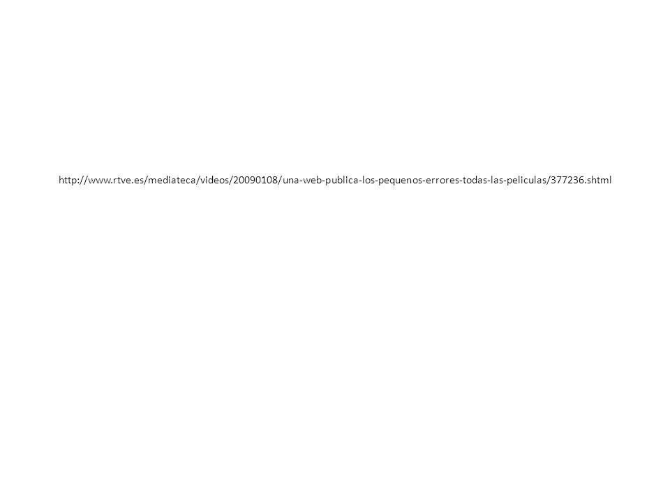 http://www.rtve.es/mediateca/videos/20090108/una-web-publica-los-pequenos-errores-todas-las-peliculas/377236.shtml