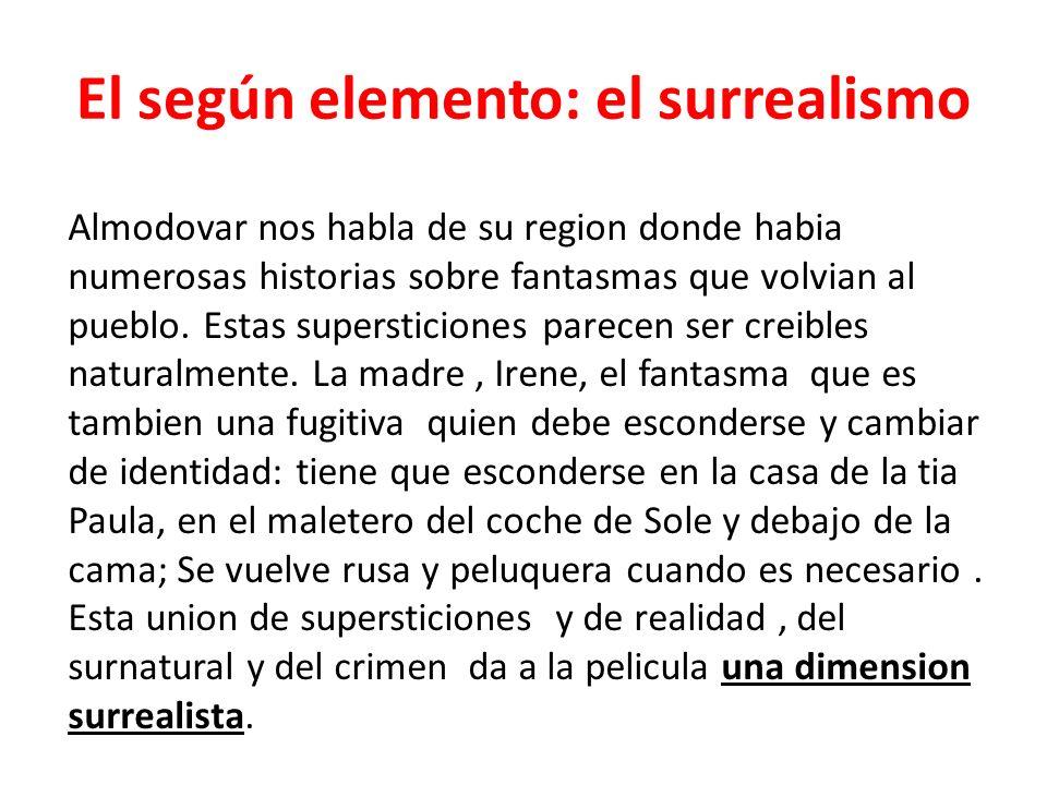 El según elemento: el surrealismo
