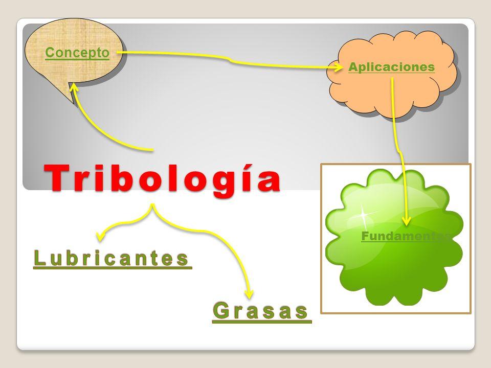 Aplicaciones Concepto Tribología Fundamentos Lubricantes Grasas