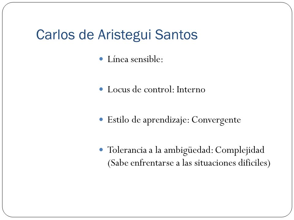 Carlos de Aristegui Santos