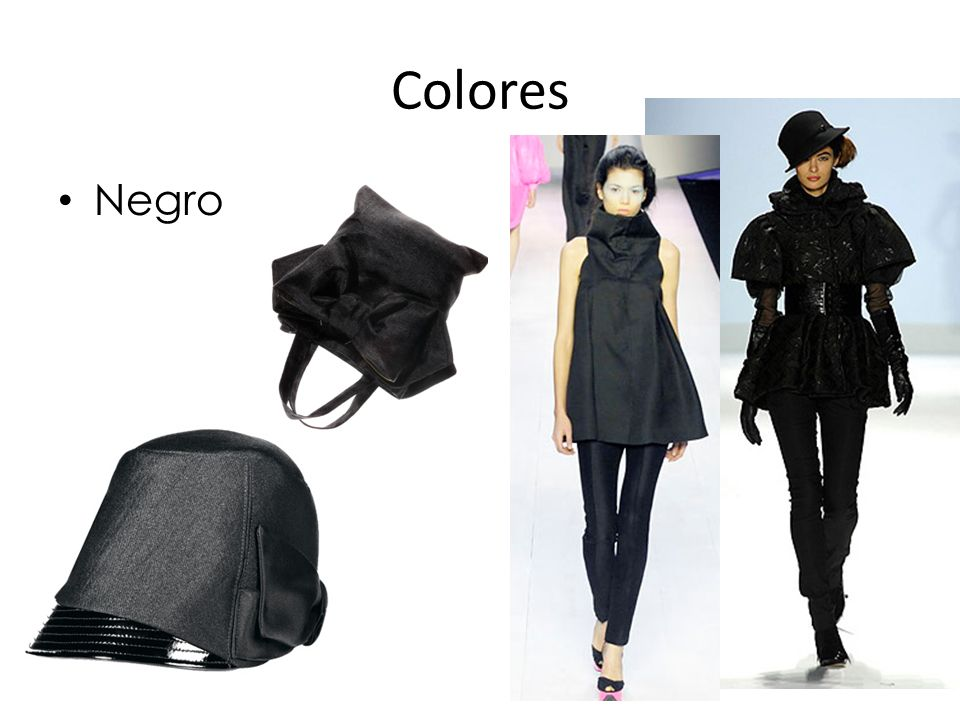 Colores Negro