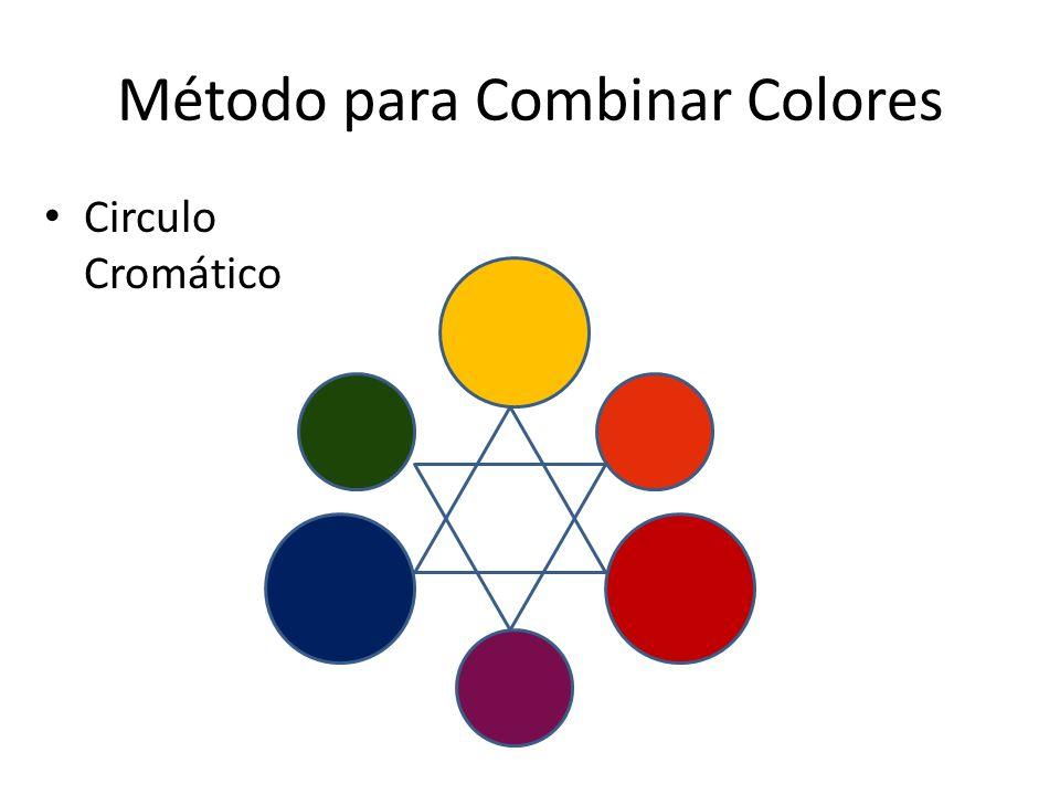 Método para Combinar Colores