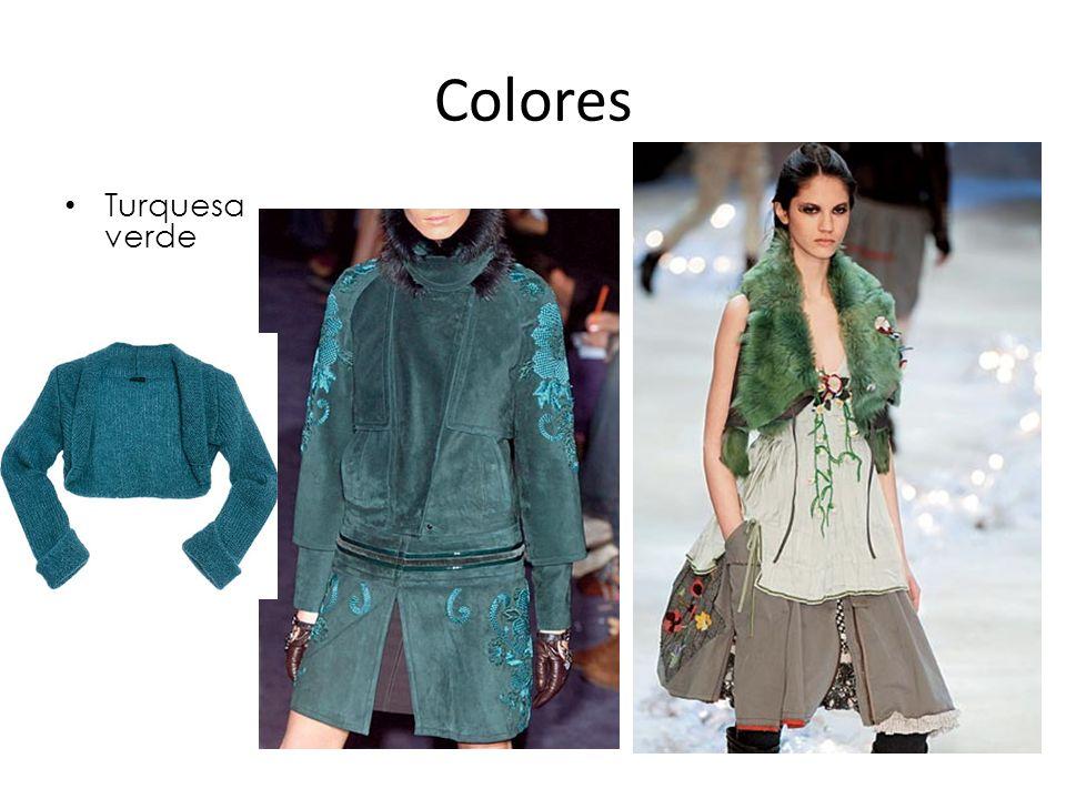 Colores Turquesa verde