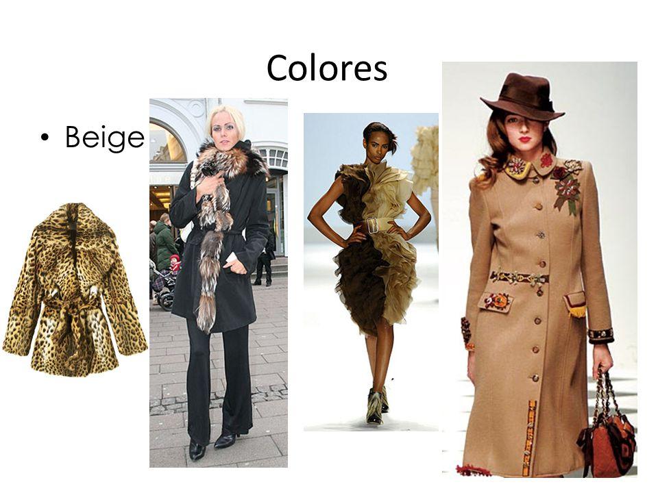 Colores Beige