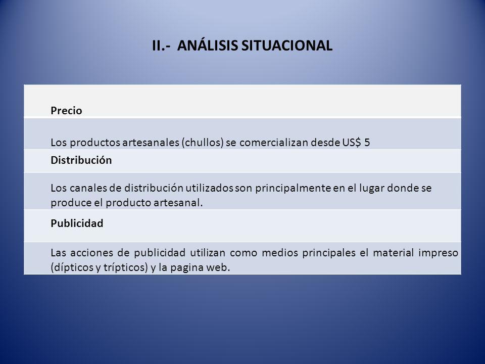 II.- ANÁLISIS SITUACIONAL