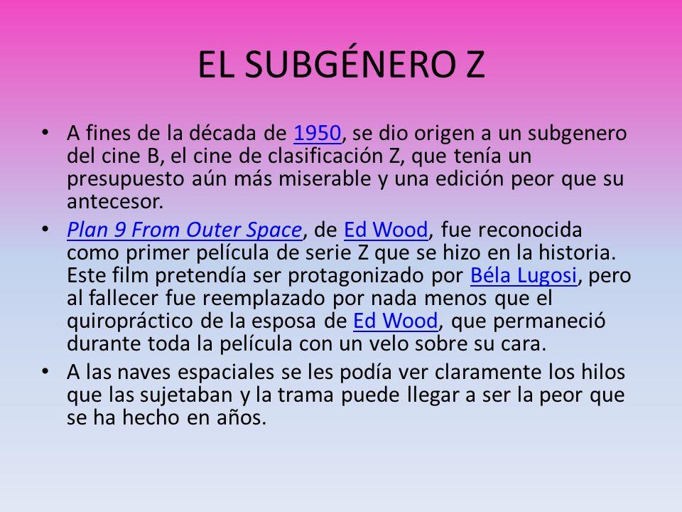 EL SUBGÉNERO Z