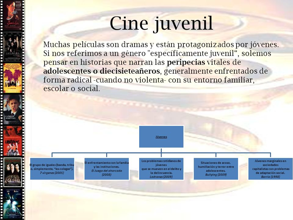 Cine histórico Cine juvenil