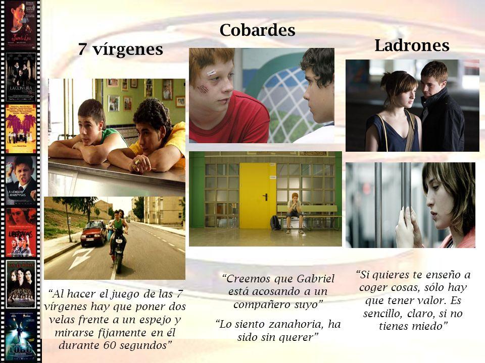 Cine histórico Cobardes Ladrones 7 vírgenes