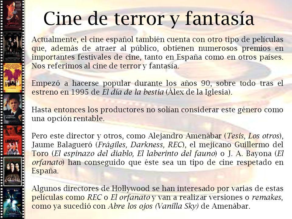 Cine de terror y fantasía Cine histórico
