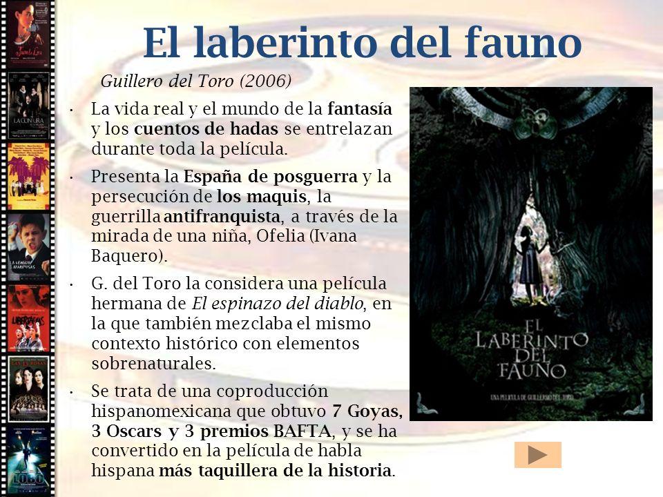 El laberinto del fauno Cine histórico Guillero del Toro (2006)