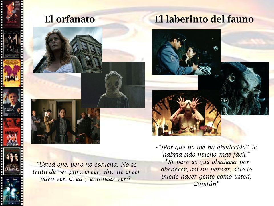 Cine histórico El orfanato El laberinto del fauno