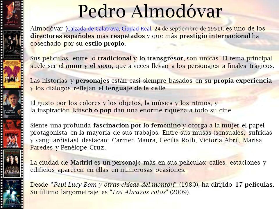Pedro Almodóvar Cine histórico