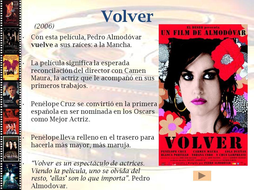 Volver Cine histórico (2006)
