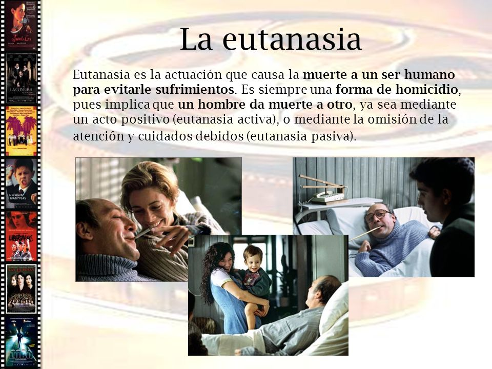 Cine histórico La eutanasia