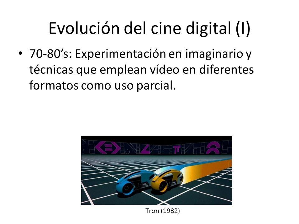 Evolución del cine digital (I)