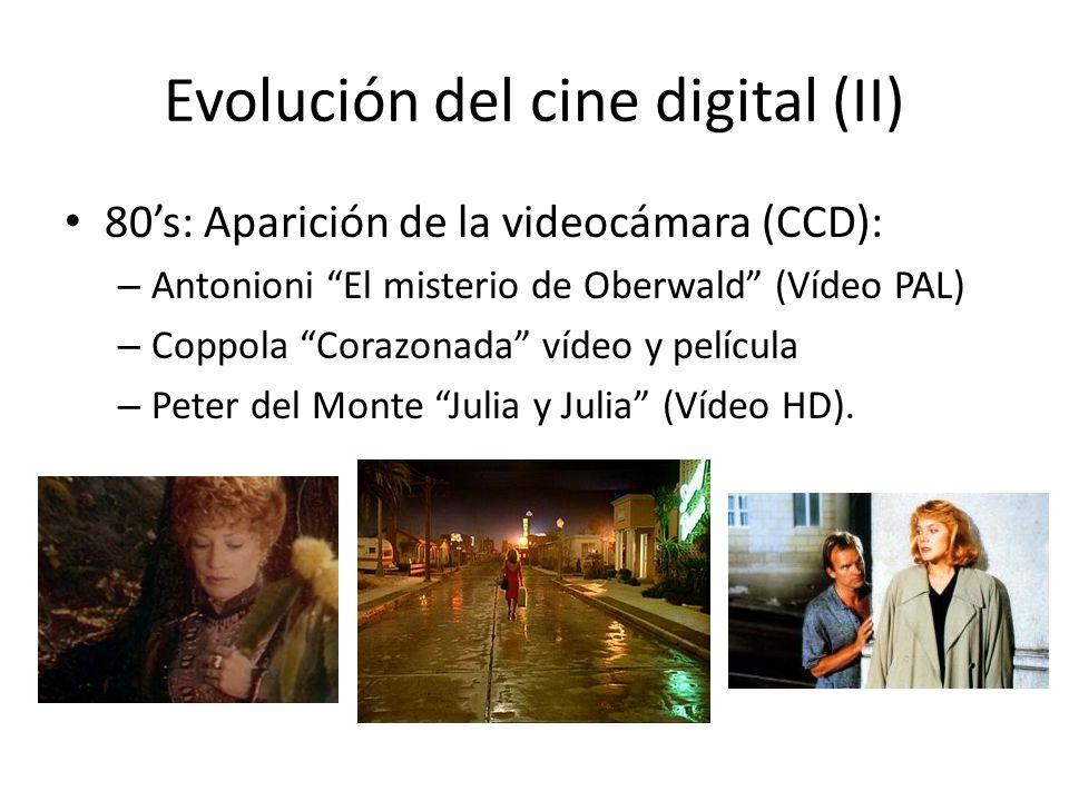 Evolución del cine digital (II)