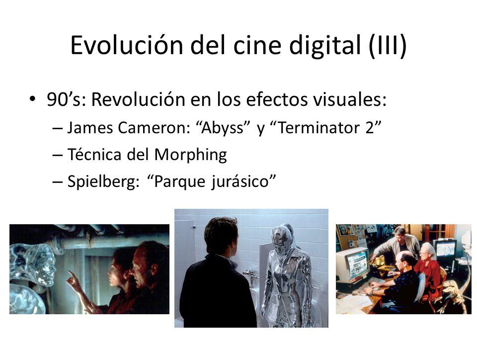 Evolución del cine digital (III)