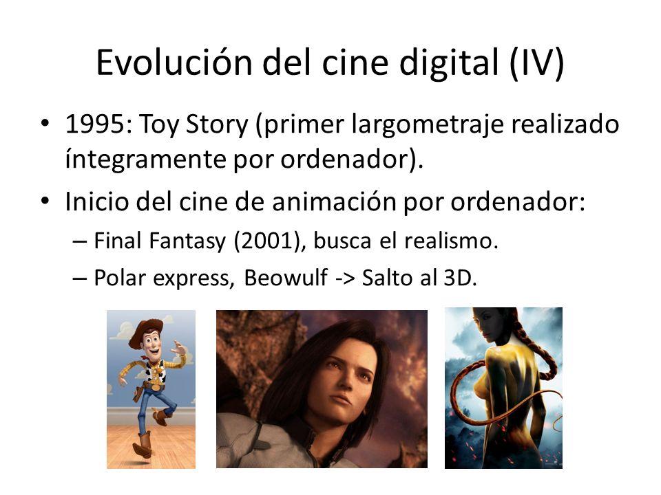 Evolución del cine digital (IV)