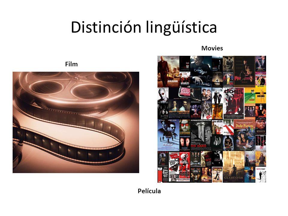Distinción lingüística