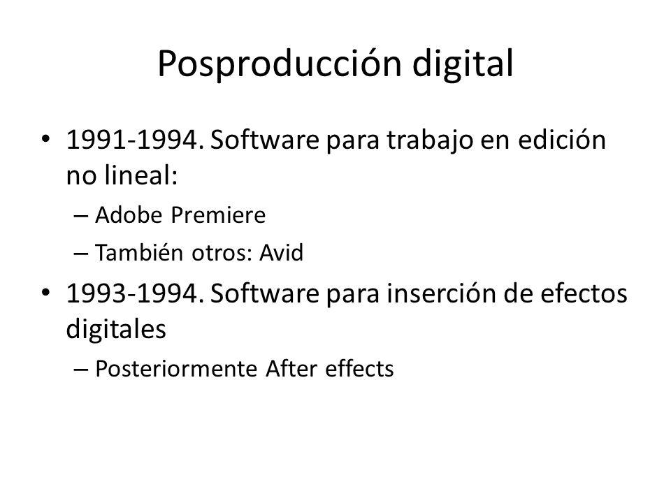 Posproducción digital