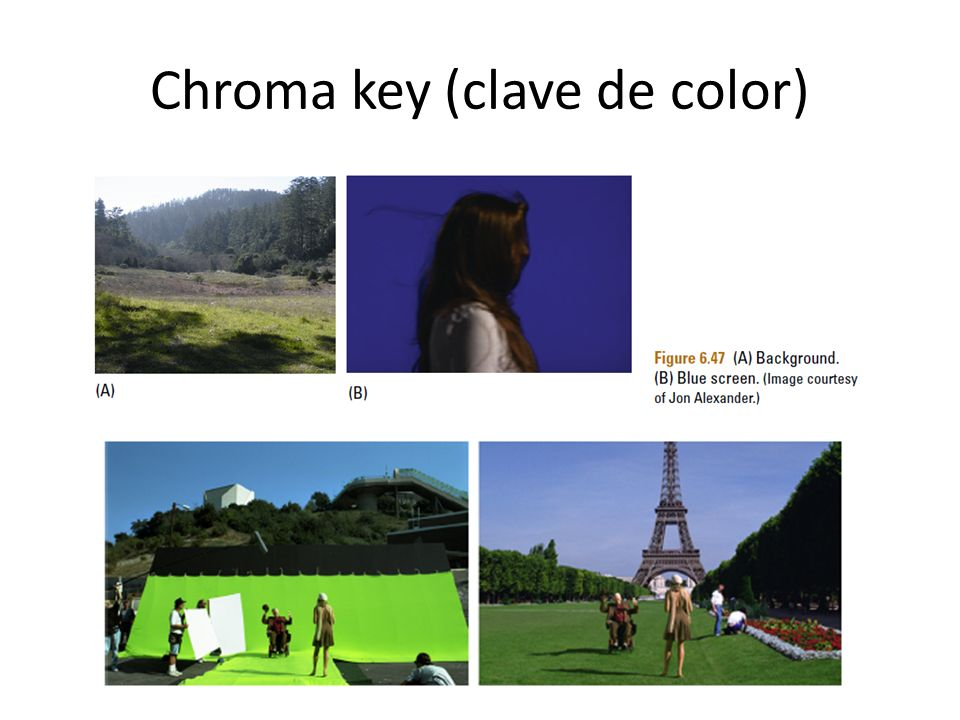 Chroma key (clave de color)