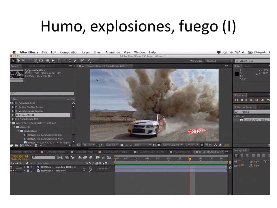 Humo, explosiones, fuego (I)
