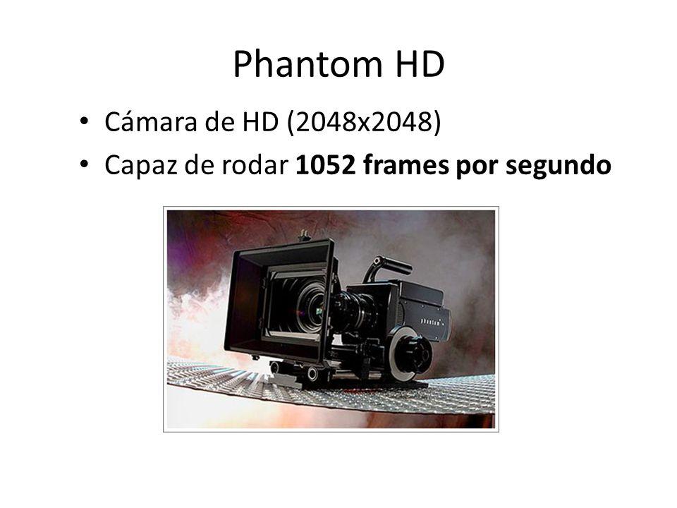 Phantom HD Cámara de HD (2048x2048)