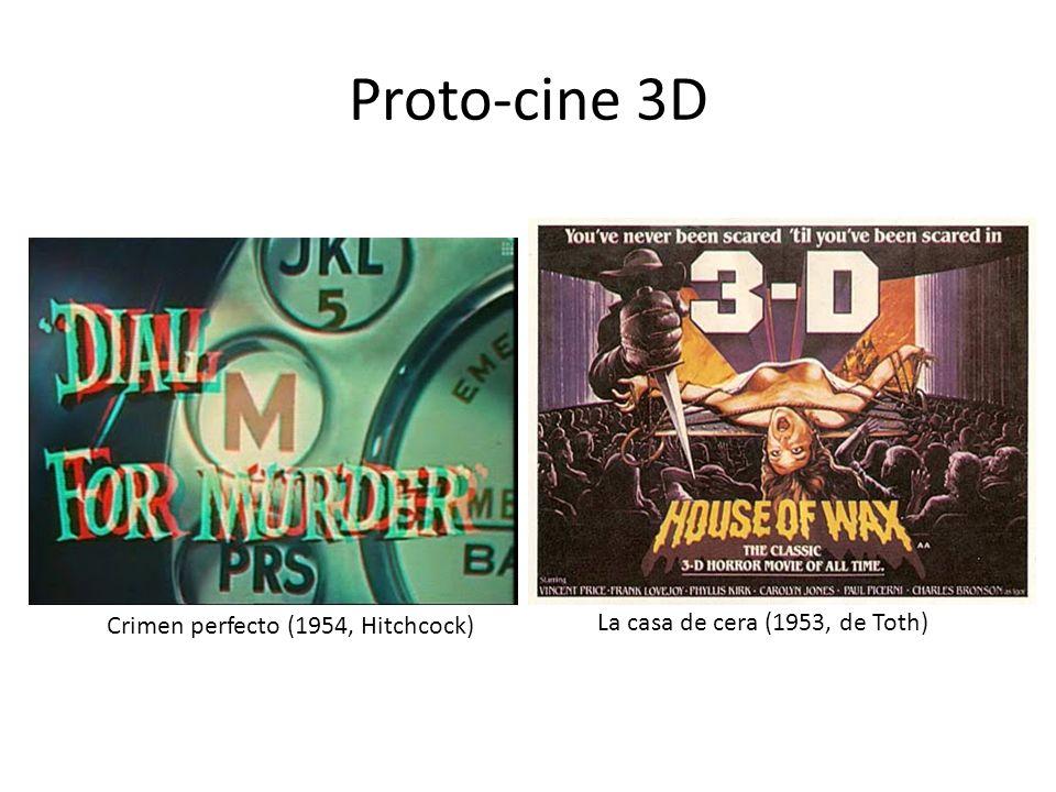 Proto-cine 3D La casa de cera (1953, de Toth)