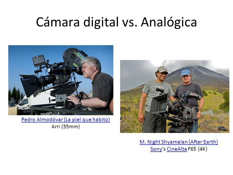 Cámara digital vs. Analógica