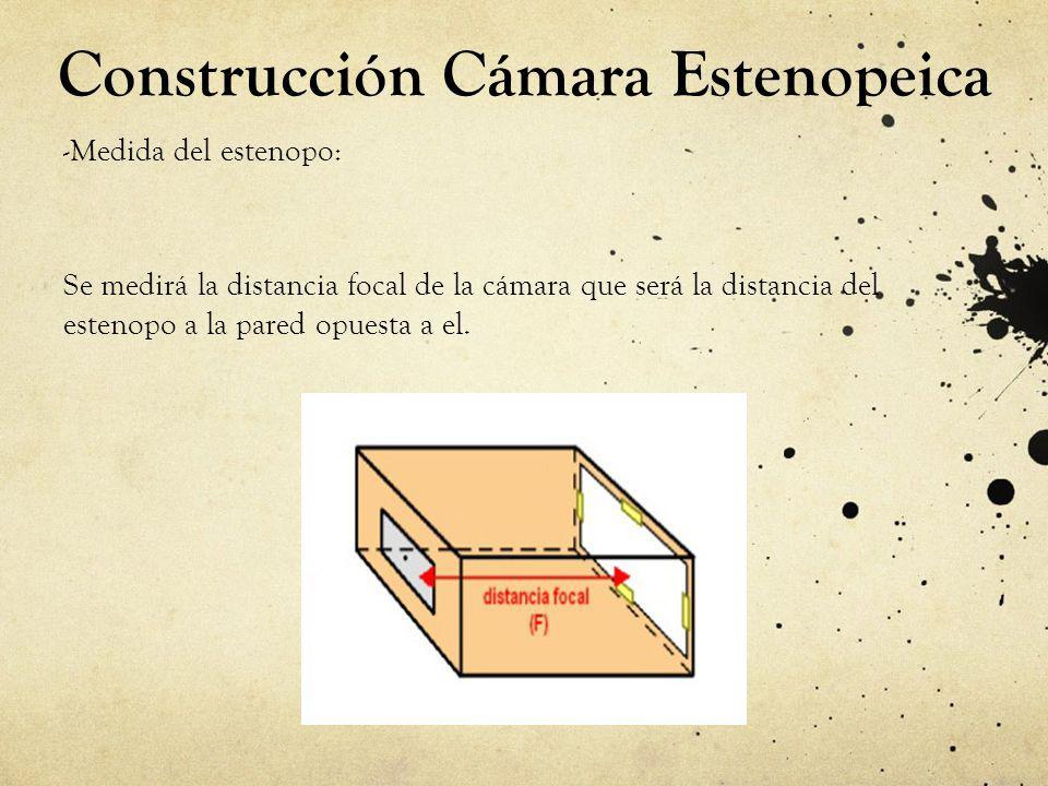 Construcción Cámara Estenopeica