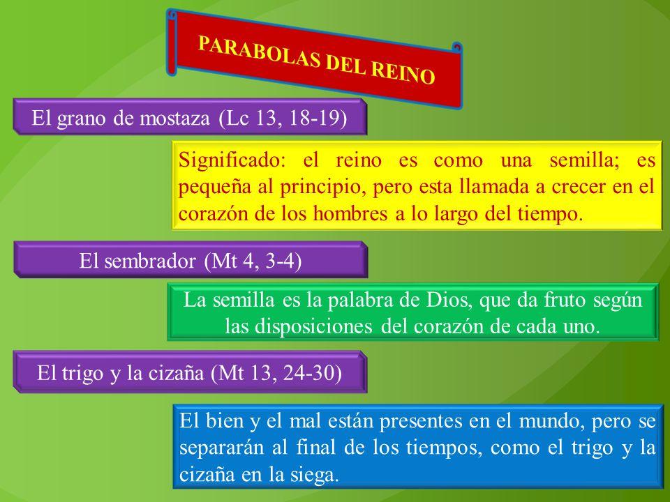 El grano de mostaza (Lc 13, 18-19)