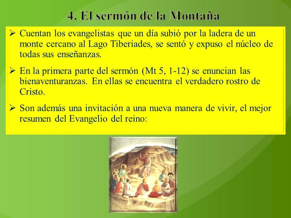 4. El sermón de la Montaña