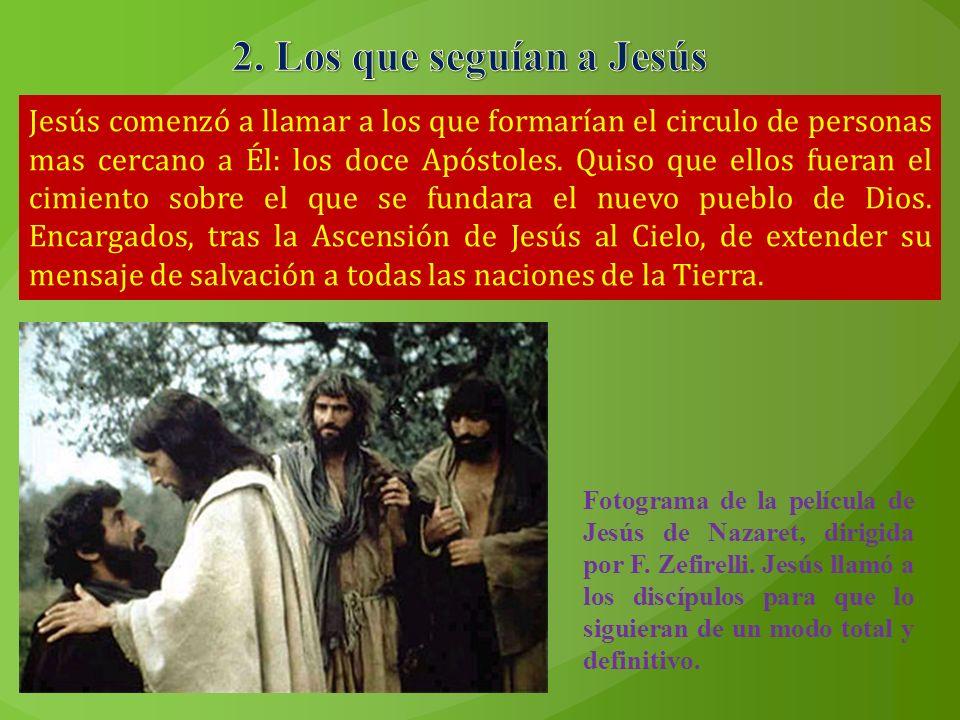 2. Los que seguían a Jesús