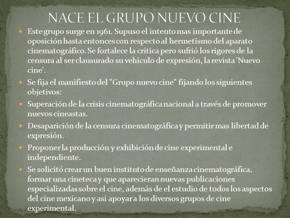 NACE EL GRUPO NUEVO CINE
