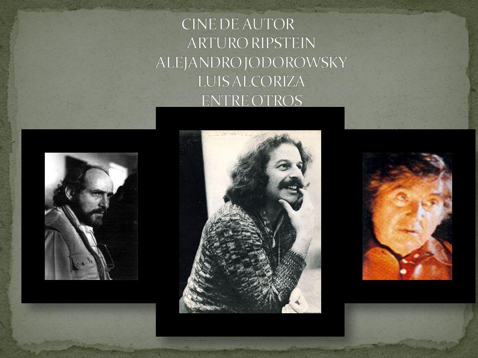 CINE DE AUTOR ARTURO RIPSTEIN ALEJANDRO JODOROWSKY LUIS ALCORIZA ENTRE OTROS