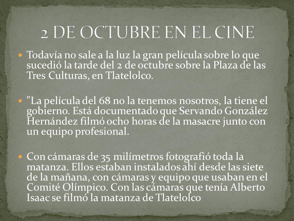 2 DE OCTUBRE EN EL CINE