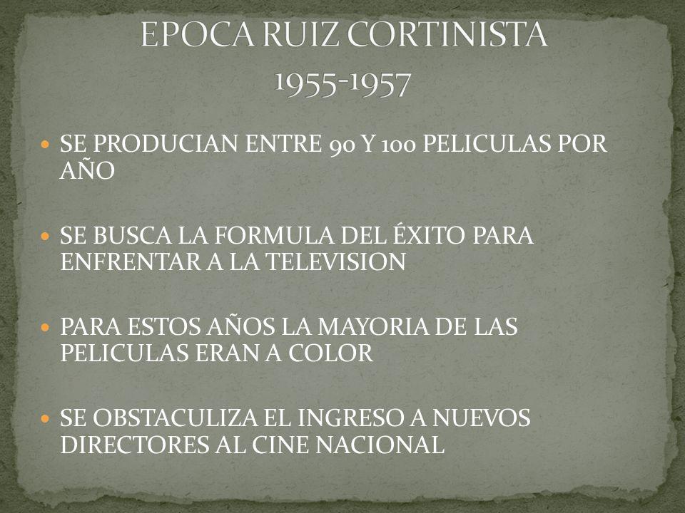 EPOCA RUIZ CORTINISTA 1955-1957