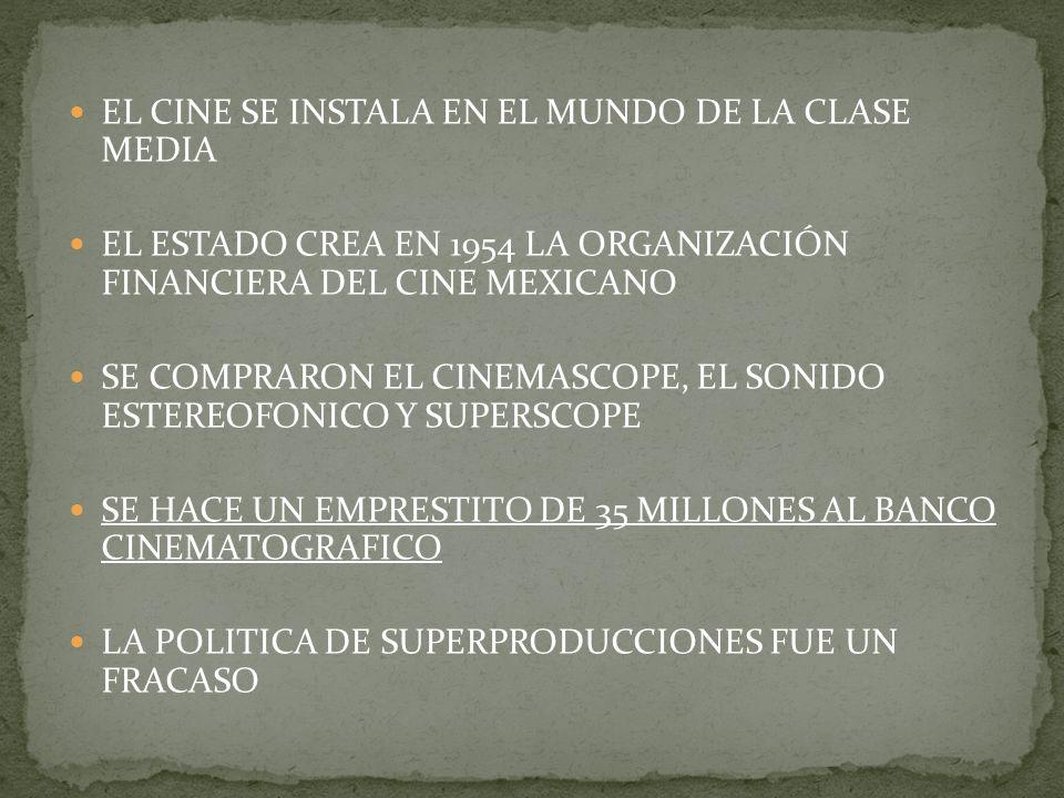 EL CINE SE INSTALA EN EL MUNDO DE LA CLASE MEDIA