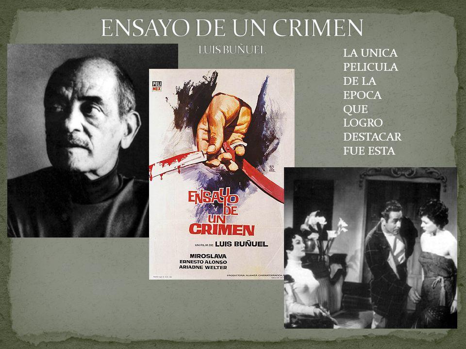 ENSAYO DE UN CRIMEN LUIS BUÑUEL