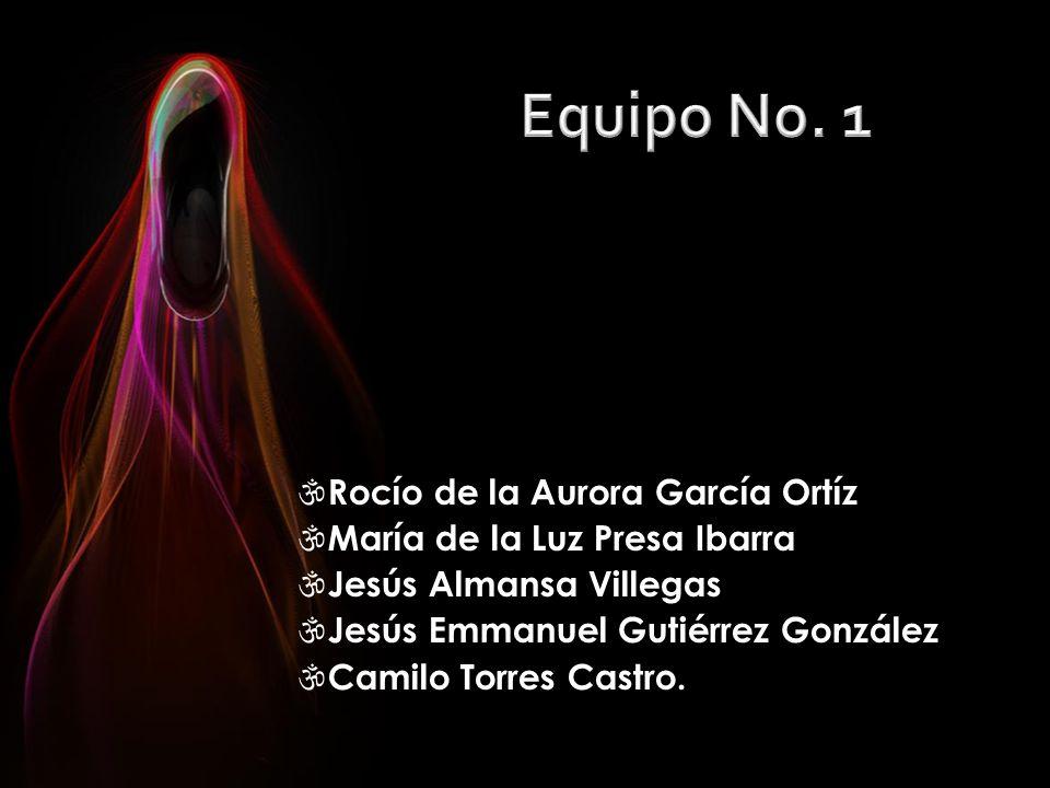 Equipo No. 1 Rocío de la Aurora García Ortíz