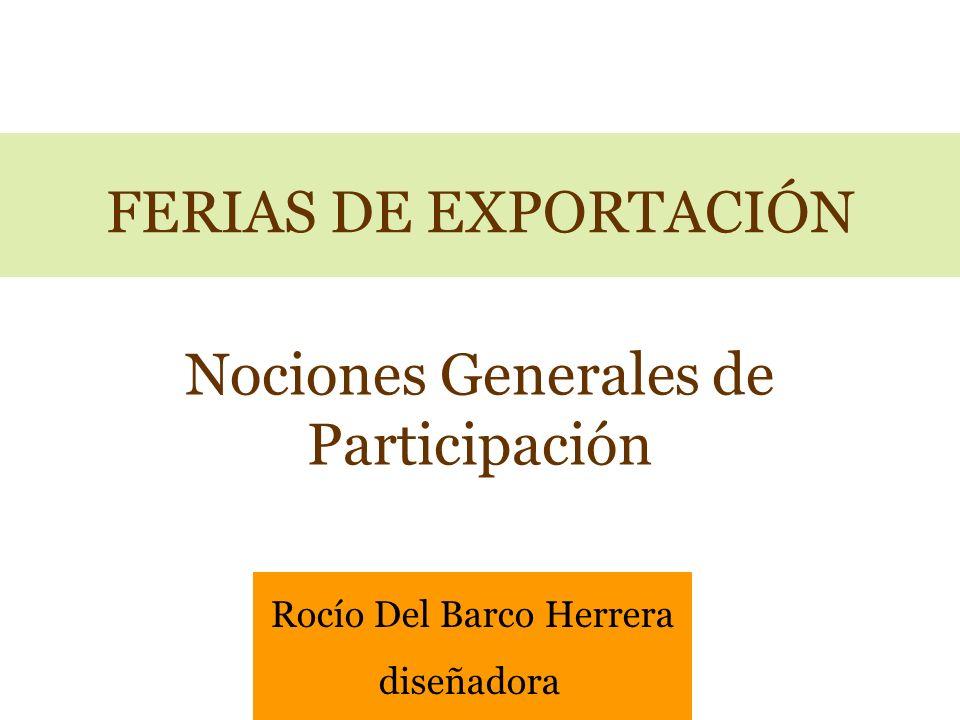 Nociones Generales de Participación